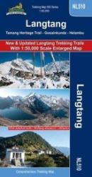 Langtang 1:50,000 Comprehensive Trekking Map by Himalayan MapHouse Pvt. Ltd
