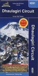 Dhaulagiri Circuit, Nepal by Himalayan MapHouse Pvt. Ltd