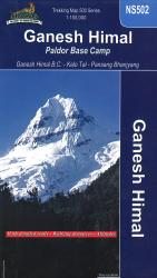 Ganesh Himal : Paldor Base Camp by Himalayan MapHouse Pvt. Ltd
