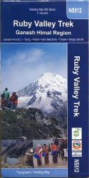 Ruby Valley Trek : Ganesh Himal Region by Himalayan MapHouse Pvt. Ltd