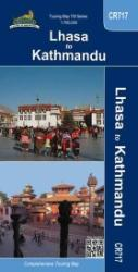 Lhasa to Kathmandu, Touring Map by Himalayan MapHouse Pvt. Ltd