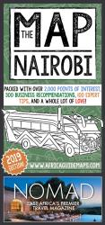 The Nairobi Map by Kigali Guides Ltd.