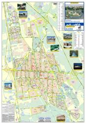 Tourist Map of Shahin Shahr City by Shirkat-i Gita Shinasi