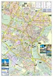 Tourist Map of Central Karaj by Shirkat-i Gita Shinasi