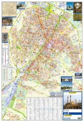 Tourist Map of Qom City by Shirkat-i Gita Shinasi