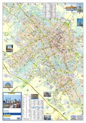 Tourist Map of Yazd by Shirkat-i Gita Shinasi