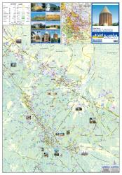 Guide Map of Varamin & Suburbs by Shirkat-i Gita Shinasi