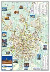 Tourist Map of Hamadan by Shirkat-i Gita Shinasi