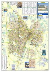 Tourist Map of Zahedan by Shirkat-i Gita Shinasi