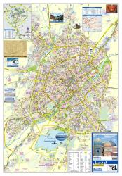 Tourist Map of Ardabil City by Shirkat-i Gita Shinasi