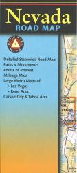 Nevada Road Map by Benchmark Maps