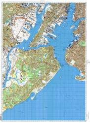 New York, New York, Cold War Map, Sheet 6 of 8 by USSR Ministry of Defense