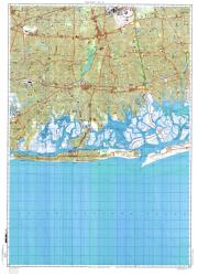 New York, New York, Cold War Map, Sheet 8 of 8 by USSR Ministry of Defense