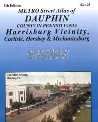 Dauphin County, Pennsylvania Atlas by Franklin Maps