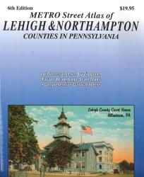 Lehigh and Northampton Counties, Pennsylvania Atlas by Franklin Maps