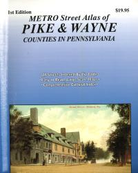 Pike and Wayne Counties, Pennsylvania Street Atlas by Franklin Maps