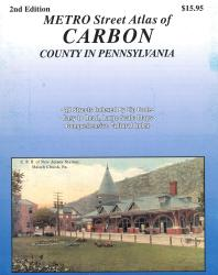 Carbon County, PA Street Atlas by Franklin Maps