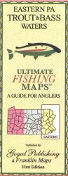 Eastern PA Trout and Bass Map by Franklin Maps