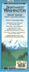 Mount Baker North Cascades Highway by Square One Maps