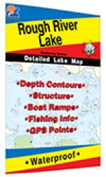 Rough River Lake (KY) Fishing Map by Fishing Hot Spots