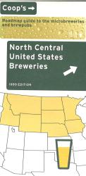 North Central United States Breweries by Lone Mountain Designs