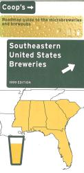 Southeastern United States Breweries by Lone Mountain Designs