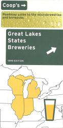 Great Lakes States Breweries by Lone Mountain Designs