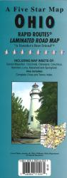 Ohio Rapid Routes by Five Star Maps, Inc.