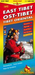 East Tibet by Gecko Maps