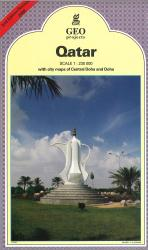 Qatar Travel Map by GEOProjects