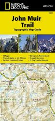 John Muir Trail Topographic Map Guide by National Geographic Maps