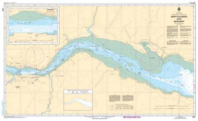 SAINT-FULGENCE to SAGUENAY (1201) by Canadian Hydrographic Service