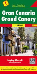 Grand Canary Road Map 1:50,000 by Freytag-Berndt und Artaria