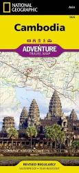 Cambodia, Adventure Map 3024 by National Geographic Maps