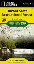 DuPont State Recreational Forest, Map 504 by National Geographic Maps