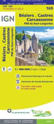 Beziers - Castres France 1:100,000 Topographic Map - Sheet #169 by Institut Geographique National