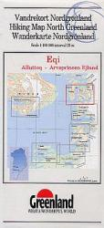 Hiking Map North Greenland : Eqi, Alluttoq - Arveprinsen Ejland by Greenland Tourism