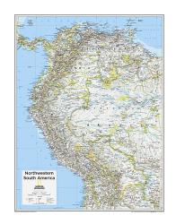 Northwestern South America - Map from National Geographic Atlas of the World 10th Edition by National Geographic Maps