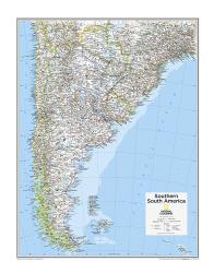 Southern South America - Map from National Geographic Atlas of the World 10th Edition by National Geographic Maps