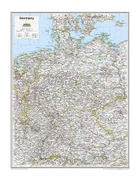 Germany - Map from National Geographic Atlas of the World 10th Edition by National Geographic Maps
