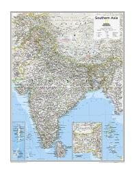 Southern Asia - Map from National Geographic Atlas of the World 10th Edition by National Geographic Maps
