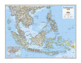 Southeastern Asia - Map from National Geographic Atlas of the World 10th Edition by National Geographic Maps