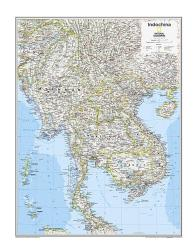 Indochina - Map from National Geographic Atlas of the World 10th Edition by National Geographic Maps