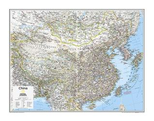 China - Map from National Geographic Atlas of the World 10th Edition by National Geographic Maps