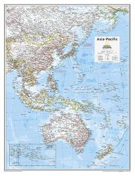 Asia-Pacific - Map from National Geographic Atlas of the World 10th Edition by National Geographic Maps