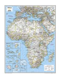 Africa Political - Map from National Geographic Atlas of the World 10th Edition by National Geographic Maps
