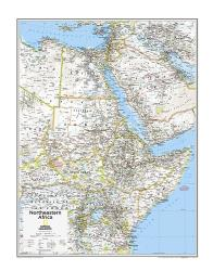 Northeastern Africa - Map from National Geographic Atlas of the World 10th Edition by National Geographic Maps