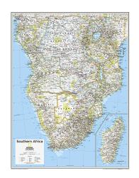 Southern Africa - Map from National Geographic Atlas of the World 10th Edition by National Geographic Maps