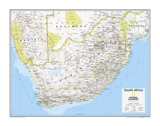 South Africa - Map from National Geographic Atlas of the World 10th Edition by National Geographic Maps