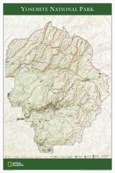 2006 Yosemite National Park Map by National Geographic Maps